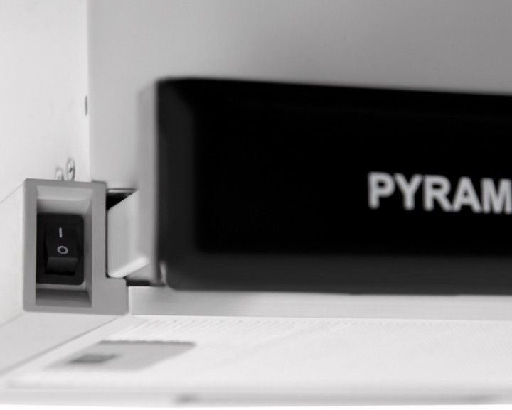 Вытяжка PYRAMIDA TL FULL GLASS 60 INOX BLACK/N - 1