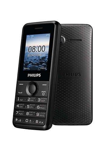 Мобильный телефон Philips Xenium E103 Black - 2