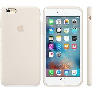 Силиконовый чехол Apple iPhone 6s Plus Silicone Case (MLD22) Antique White - 1