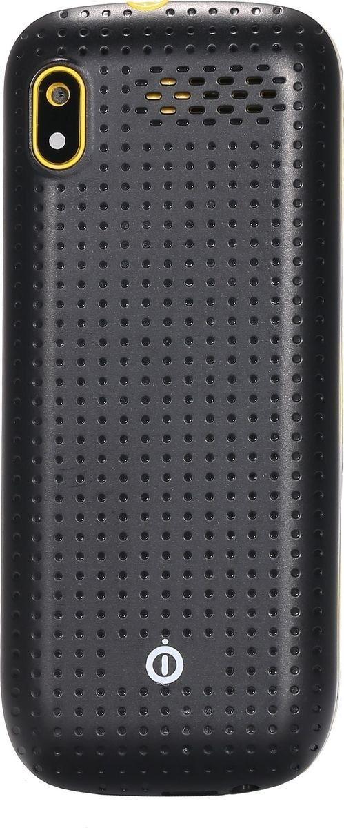 Мобильный телефон Nomi i181 Black-Yellow - 2