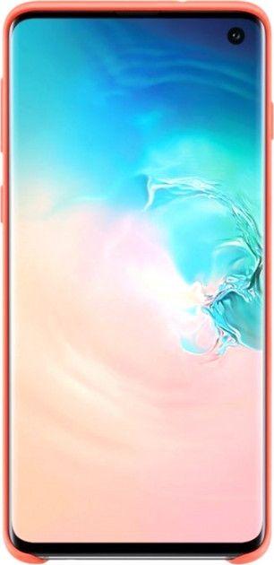 Панель Samsung Silicone Cover для Samsung Galaxy S10 (EF-PG973THEGRU) Berry Pink от Територія твоєї техніки - 2