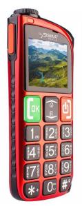 Мобильный телефон Sigma mobile Comfort 50 Light Dual SIM Red - 1