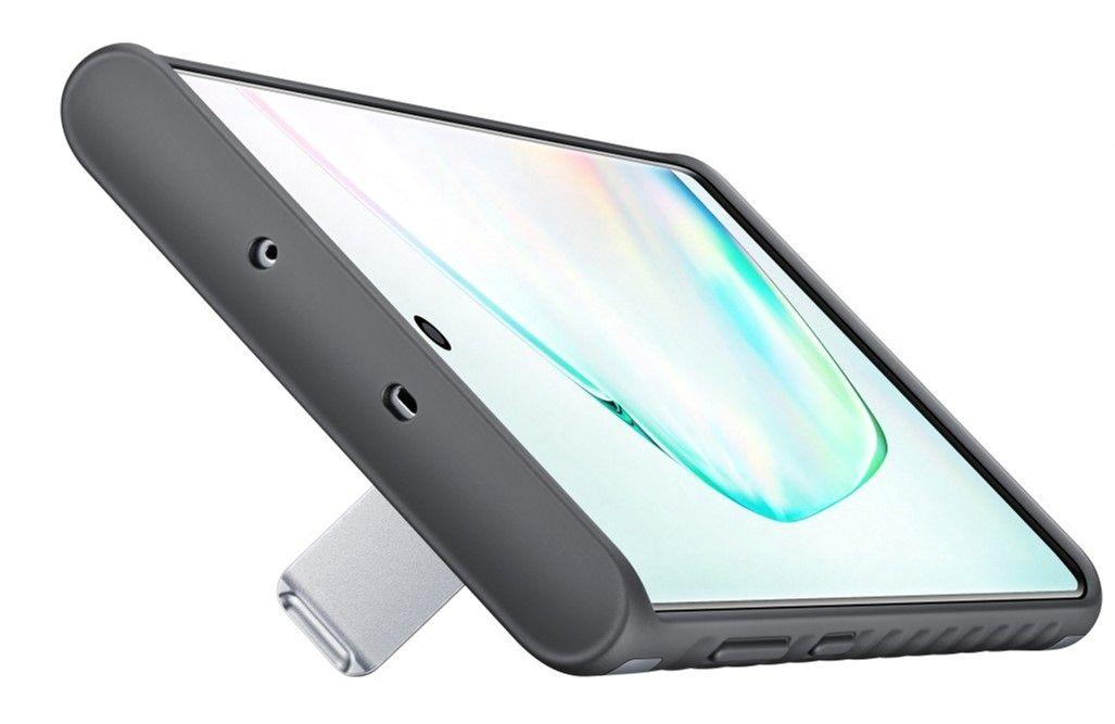 Чехол-накладка Samsung Protective Standing Cover для Samsung Galaxy Note 10 (EF-RN970CSEGRU) Silver от Територія твоєї техніки - 4