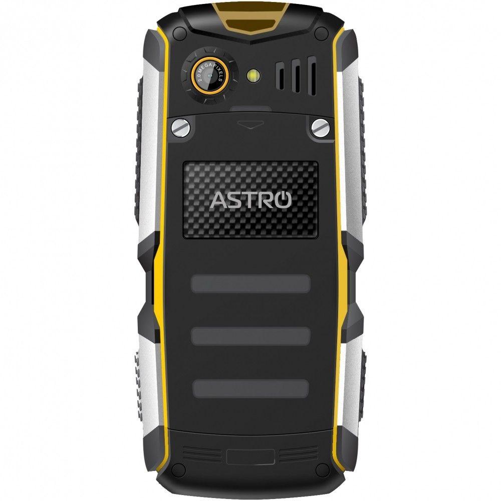 Мобильный телефон Astro A200 RX Black-Yellow - 1