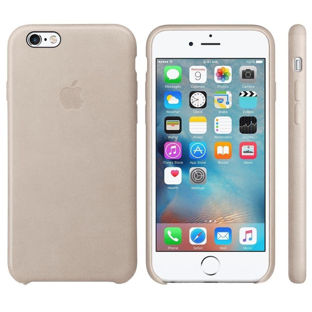 Чехол для Apple iPhone 6s Leather Case Rose Gray (MKXV2ZM/A) - 2