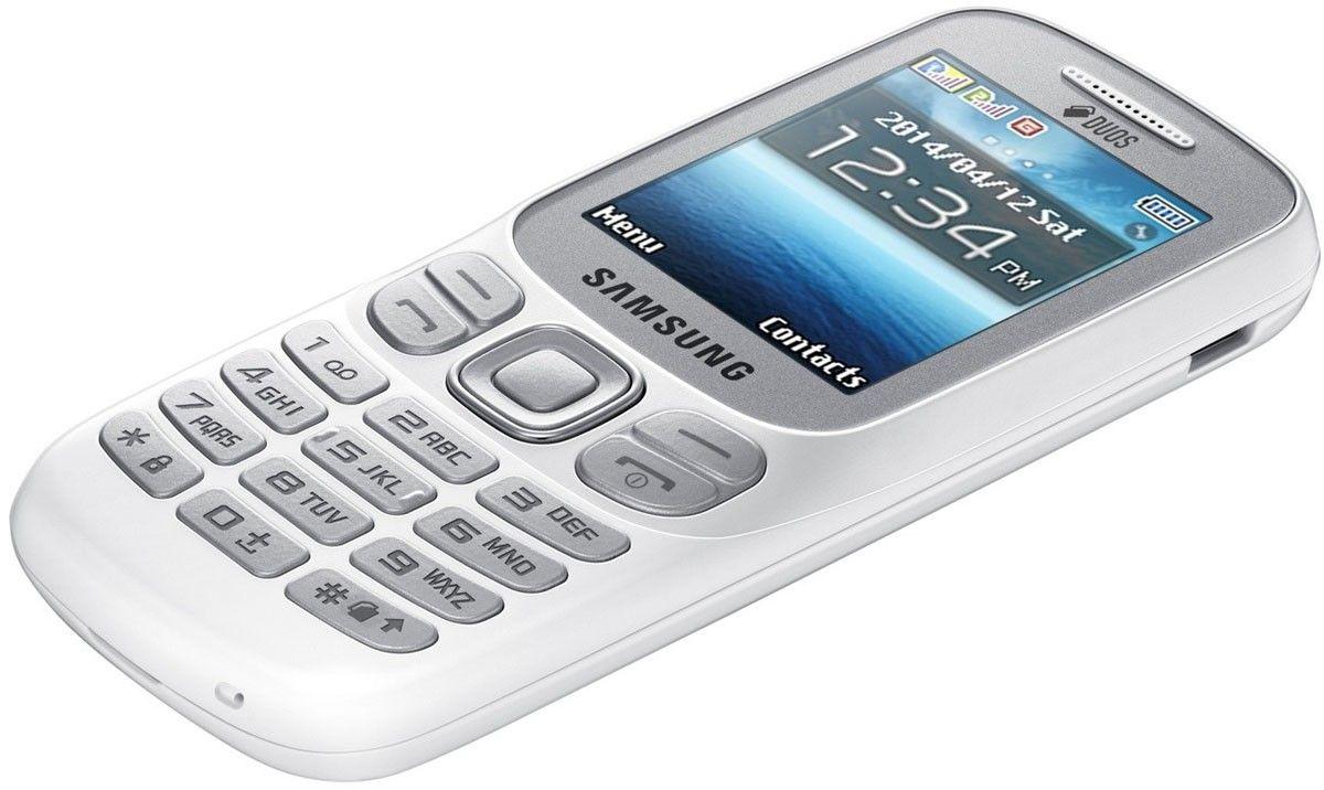 Мобильный телефон Samsung B312E White - 3