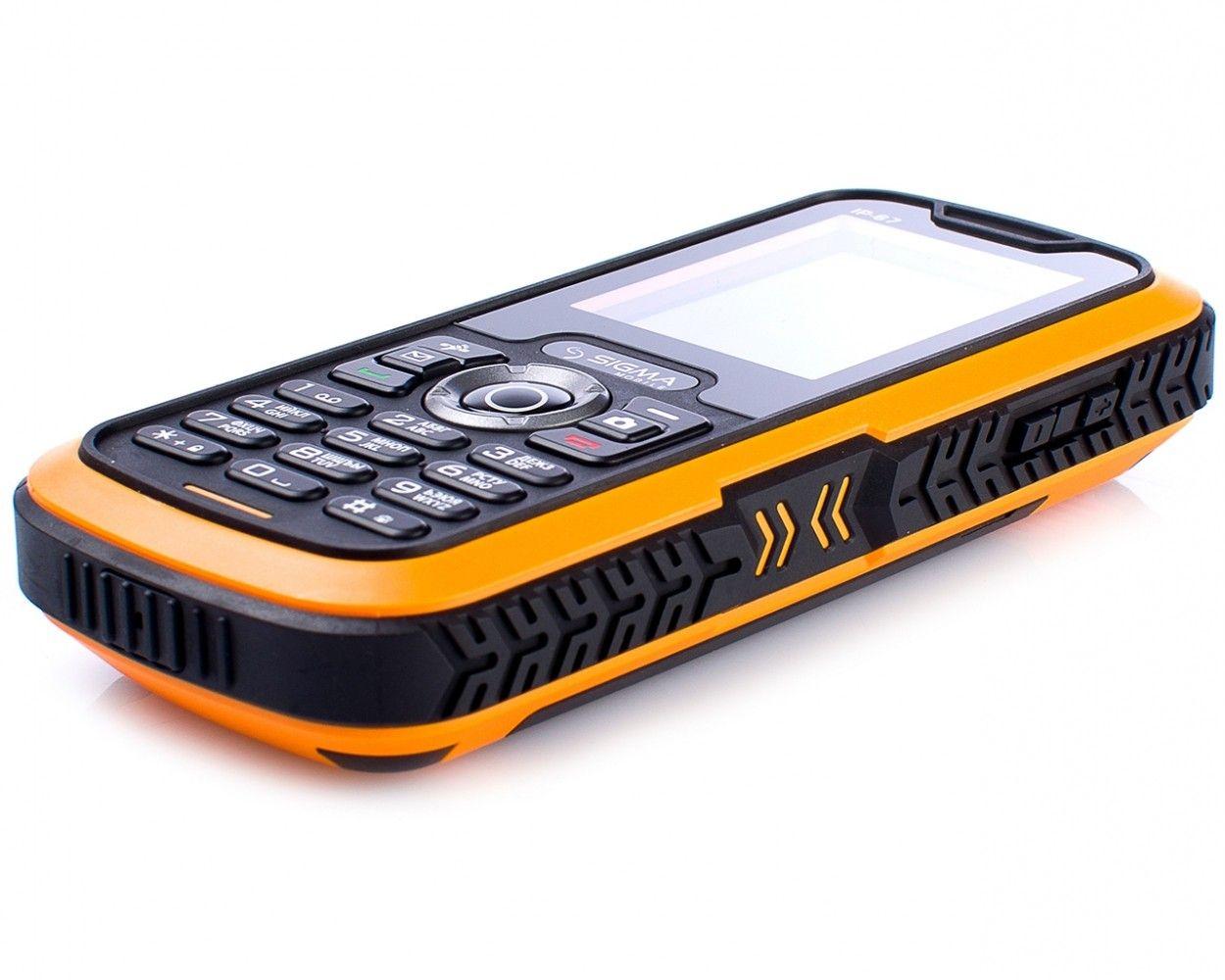 Мобильный телефон Sigma mobile X-treme IP67 Black Orange - 3