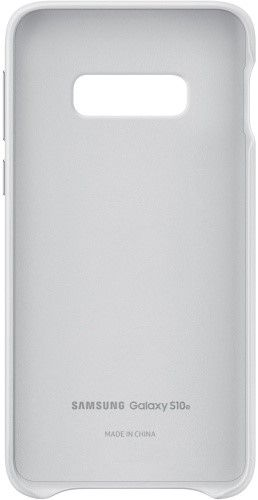 Панель Samsung Leather Cover для Samsung Galaxy S10e (EF-VG970LWEGRU) White от Територія твоєї техніки - 4