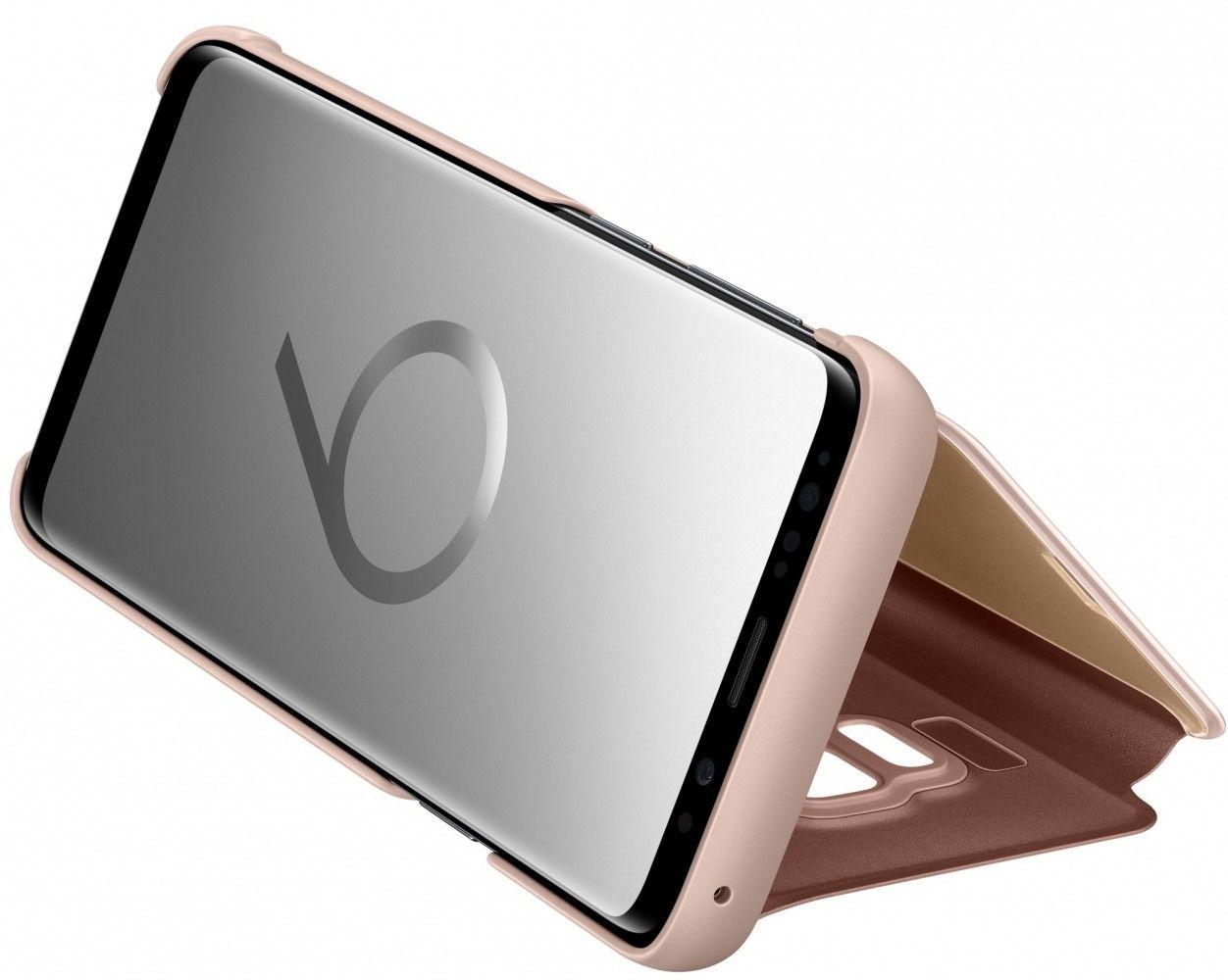 Чехол-Книжка Samsung Clear View Standing Cover S9 Gold (EF-ZG960CFEGRU) от Територія твоєї техніки - 5