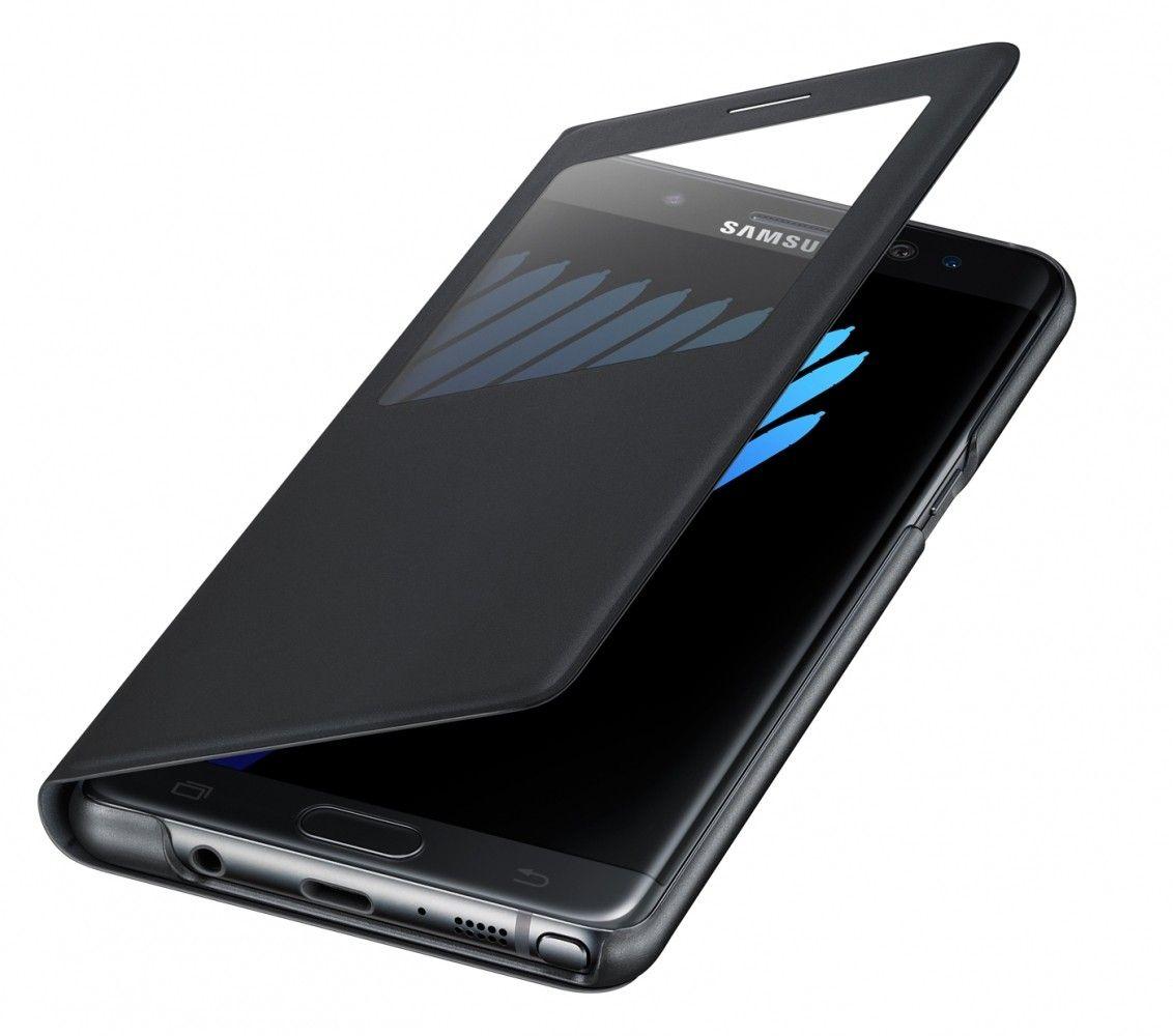Чехол Samsung S View Cover для Samsung Galaxy Note 7 Black (EF-CN930PBEGRU) - 3