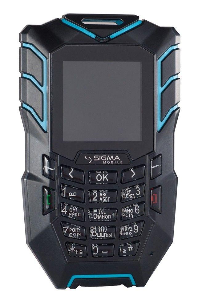 Мобильный телефон Sigma mobile X-treme AT67 Kantri Blue/Black - 1