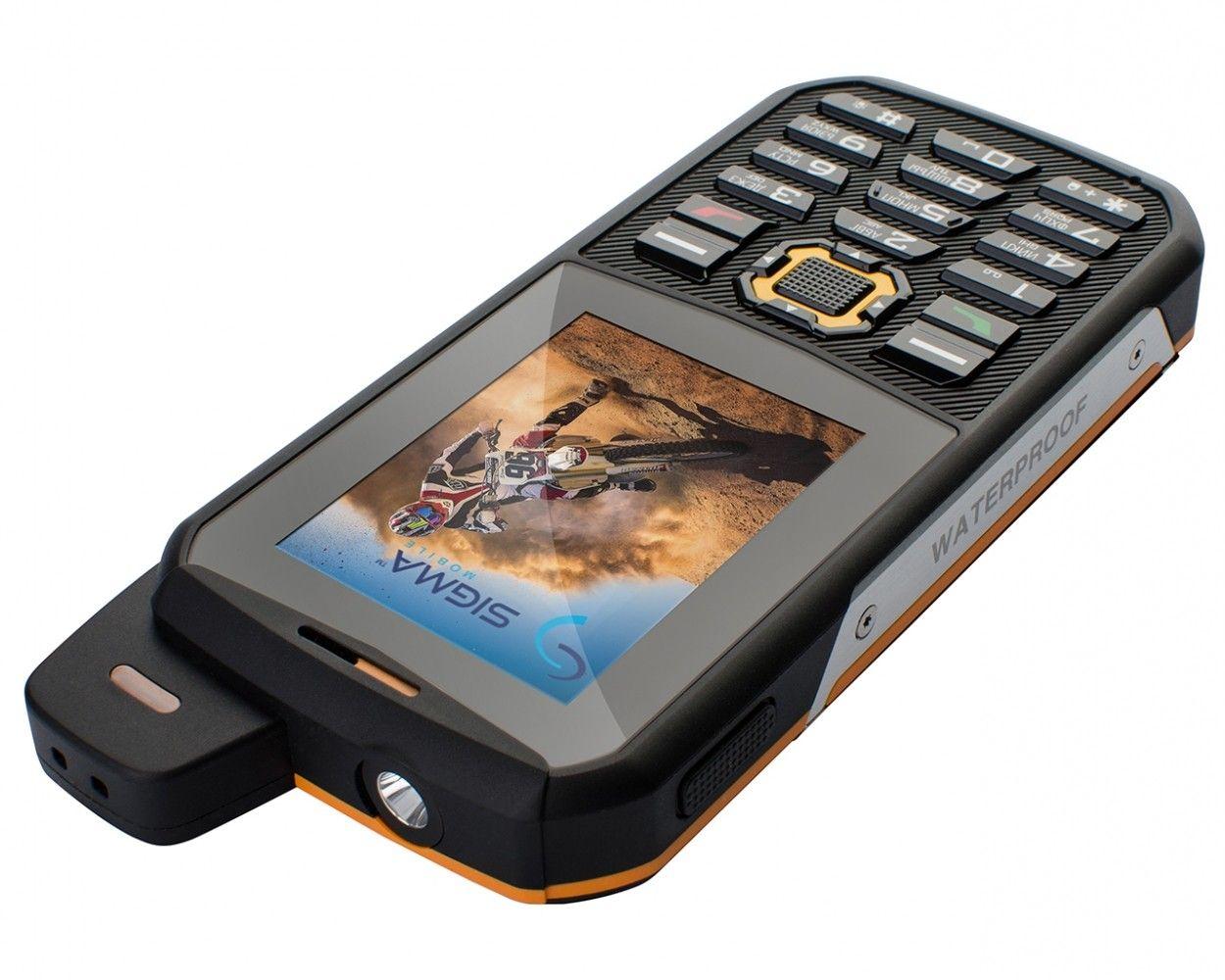 Мобильный телефон Sigma mobile X-treme 3SIM Black-Orange - 4