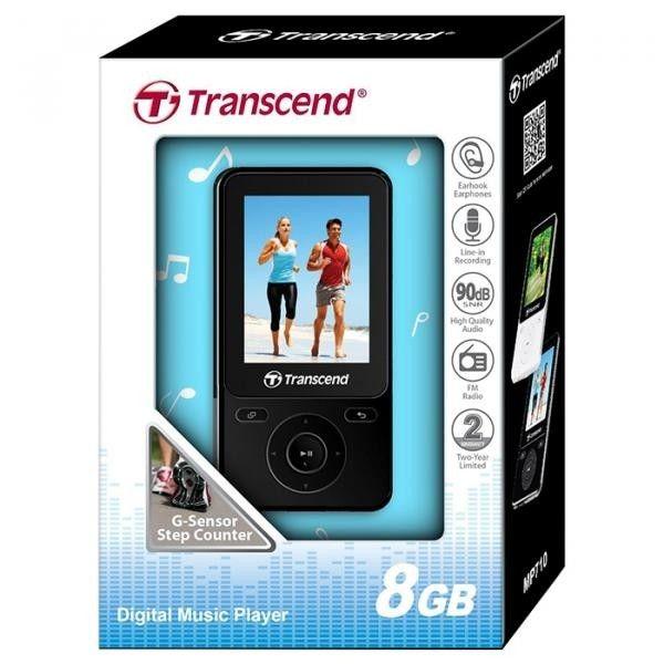 MP3-плеер Transcend T.Sonic MP710 8GB Black