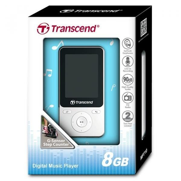 MP3-плеер Transcend T.Sonic MP710 8GB (TS8GMP710W) White