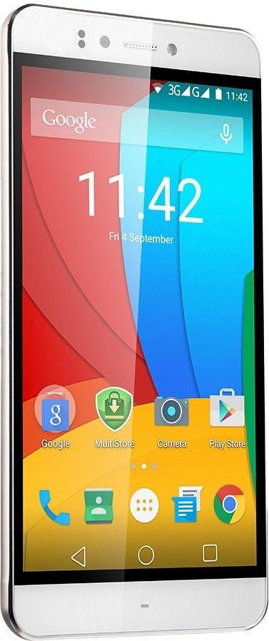 Мобильный телефон Prestigio MultiPhone 3530 Muze D3 (PSP3530DUOWHITE) White - 3
