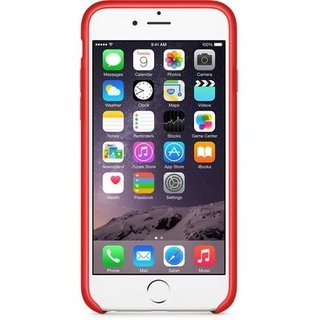 Чехол для Apple iPhone 6 Leather Case (PRODUCT) Red (MGR82ZM/A) - 1