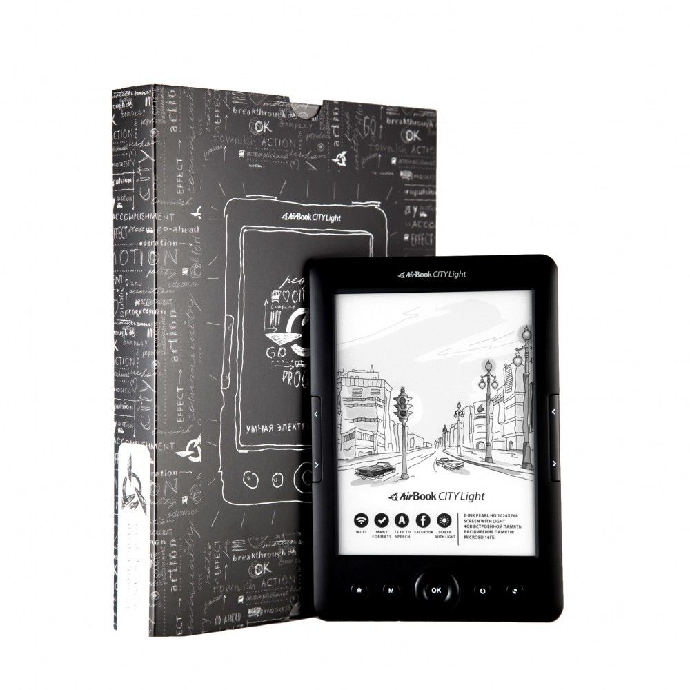 Электронная книга AirBook City Light HD Black - 1