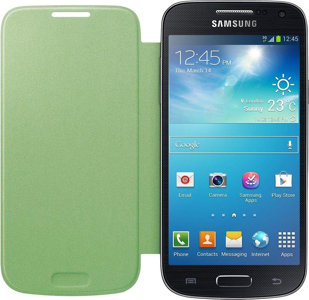 Чехол-книга Samsung для Galaxy S4 Mini Green (EF-FI919BGEGWW) - 1