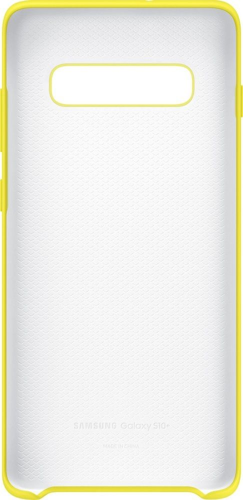 Панель Samsung Silicone Cover для Samsung Galaxy S10 Plus (EF-PG975TYEGRU) Yellow от Територія твоєї техніки - 3