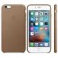Чехол для Apple iPhone 6s Plus Leather Case Brown (MKX92) 2