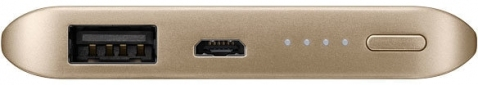 Портативная батарея Samsung Fast Charging Battery Pack 5200 mAh Gold (EB-PN920UFRGRU) - 1