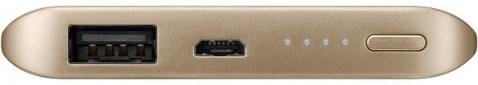 Портативная батарея Samsung Fast Charging Battery Pack 5200 mAh Gold (EB-PN920UFRGRU) 1