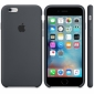 Панель Apple iPhone 6s Silicone Case Charcoal Gray (MKY02ZM/A) 1