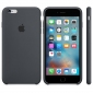 Силиконовый чехол Apple iPhone 6s Plus Silicone Case (MKXJ2) Charcoal Gray 1