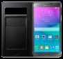 Чехол Samsung S View Wallet mini window EF-EN910FKEGRU Black для Galaxy Note 4 N910 3