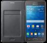 Чехол Samsung для Grand Prime Flip Wallet EF-WG530BSEGRU Charcoal 0
