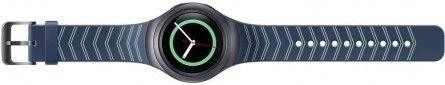 Ремешок Samsung Gear S2 Sport Navy (ET-SRR72MNEGRU) 2