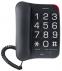 Телефон Texet TX-201 Black 0