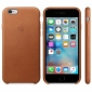 Чехол для Apple iPhone 6s Leather Case Saddle Brown (MKXT2ZM/A) 1