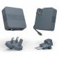 Портативная батарея Tylt Energi 6K+ Smart Travel Charger + PowerBank 6000mAh with Lightning cable Gray (IP5NRG6TCGY-EUK) 0