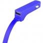 Автомобильное зарядное устройство Tylt BAND Car Charger Lightning Blue (LIT-RIBBNBL-T) 0