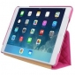 Чехол-книжка для iPad Jison Quilted Leather Smart Case (JS-ID5-02H33) Rose Red for iPad Air/Air 2 0