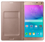 Чехол Samsung LED Flip Wallet для Samsung Galaxy Note 4 N910H Gold (EF-NN910BEEGRU) 0