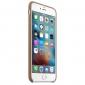 Чехол для Apple iPhone 6s Plus Leather Case Brown (MKX92) 0