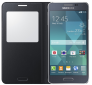 Чехол Samsung S View EF-CG850BBEGRU Black для Galaxy Alpha 2