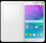 Чехол Samsung для Galaxy Note 4 S view EF-CN910FTEGRU White 2