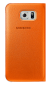 Чехол Samsung S View Zero для Samsung Galaxy S6 Orange (EF-CG920POEGRU) 0
