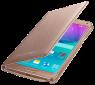 Чехол Samsung LED Flip Wallet для Samsung Galaxy Note 4 N910H Gold (EF-NN910BEEGRU) 2
