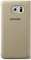 Чехол Samsung S View Zero для Samsung Galaxy S6 Gold (EF-CG920BFEGRU) 0
