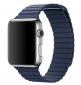 Ремешок Leather Loop для Apple Watch 42мм (MLHL2/MLHM2) Bright Blue 1