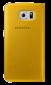 Чехол Samsung S View Zero для Samsung Galaxy S6 Yellow (EF-CG920PYEGRU) 0