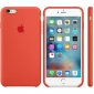 Силиконовый чехол Apple iPhone 6s Plus Silicone Case (MKXQ2) Orange  1