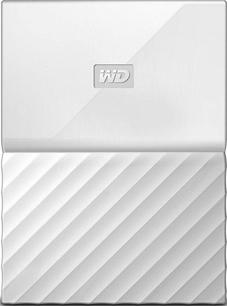 Купить Жесткие диски, Жесткий диск Western Digital My Passport 1TB WDBYNN0010BWT-WESN 2.5 USB 3.0 External White