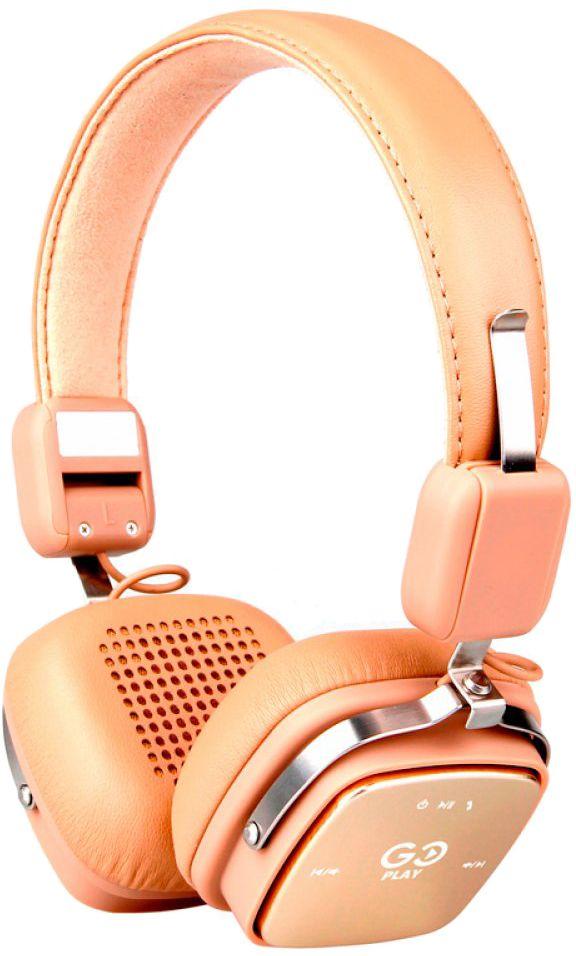 Купить Наушники и гарнитуры, Наушники Air Music Go Play Bluetooth (2000984643291) Beige