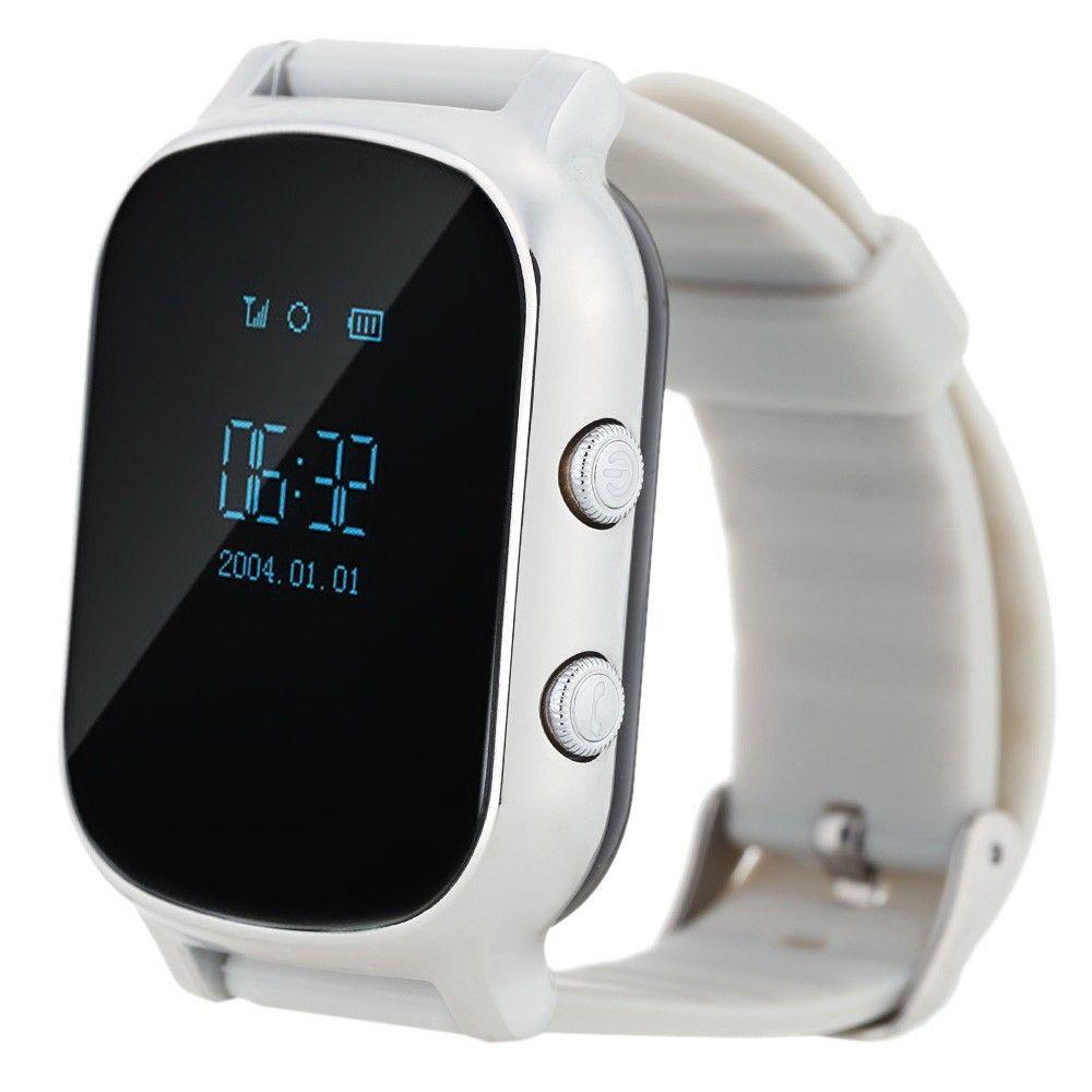 Купить Детские умные часы с GPS-трекером Smart Baby Watch GW700 (T58) Silver