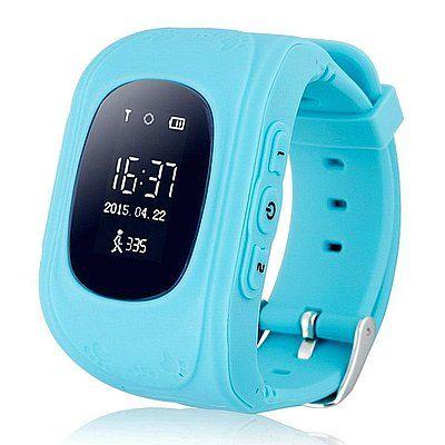 Купить Детские умные часы с GPS-трекером Smart Baby Watch GW300 (Q50) Blue